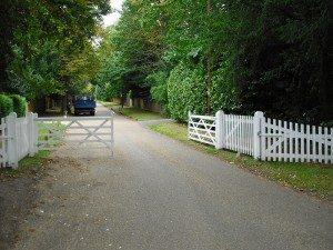 Entrance to Estate Gate