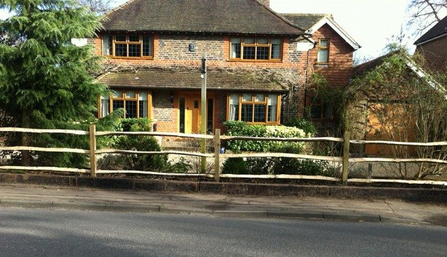 post-and-rail-fence-cobham
