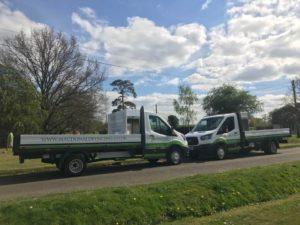 Macdonald Fencing & Sons Trucks