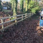 Post-and-rail-Fencing-Oxshott