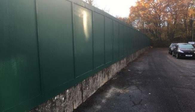 Construction Site Hoarding