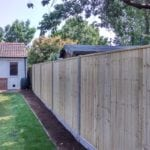 Closeboard with Concrete Posts & Gravel Boards