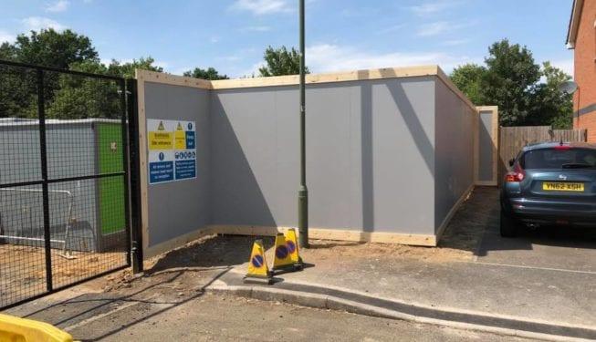 Site Hoarding Addlestone